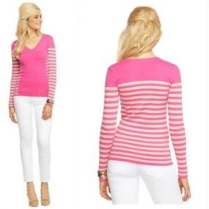 Lilly Pulitzer Adelaide Sweater Good Reef Stripe